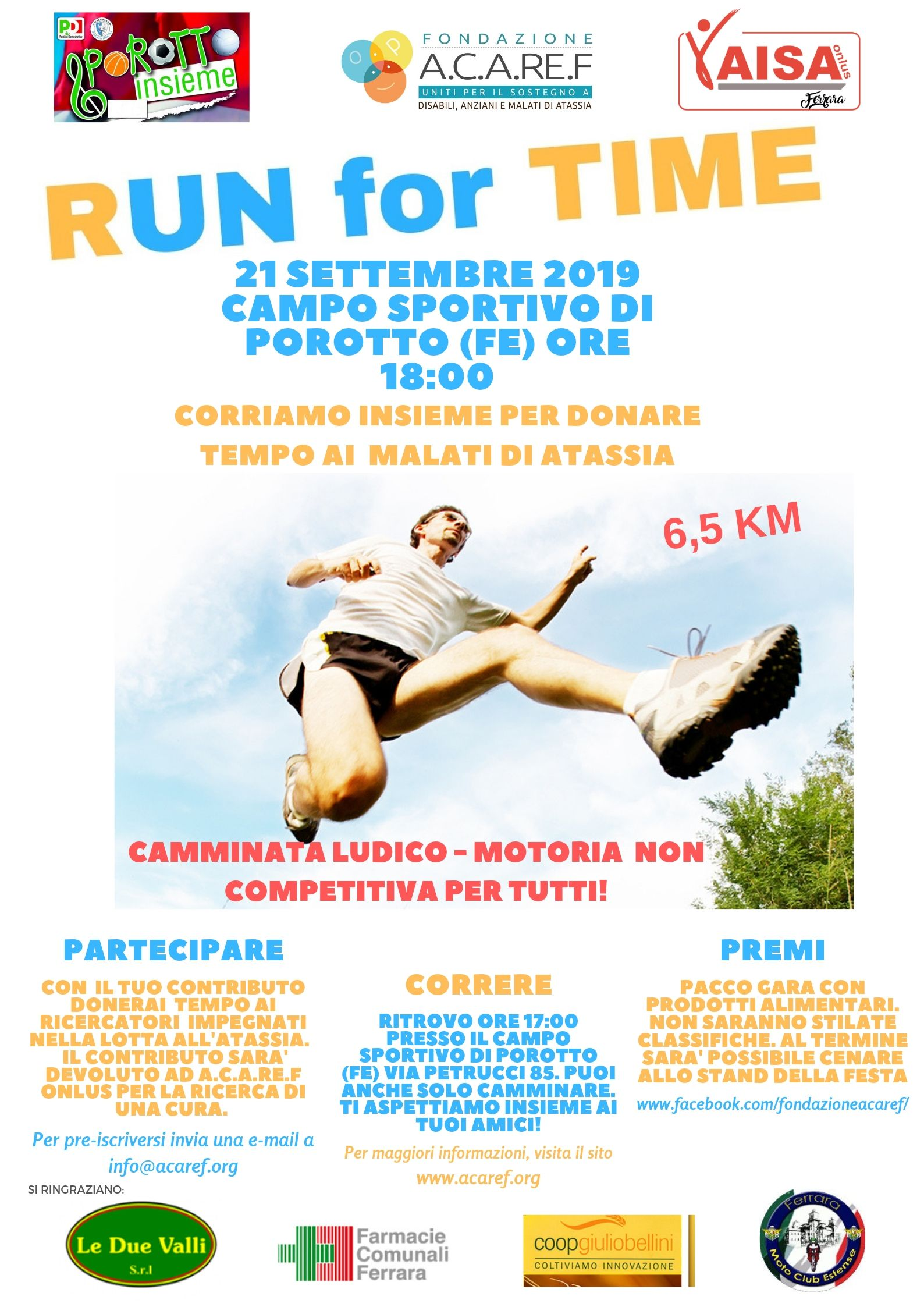 RUN FOR TIME 2019